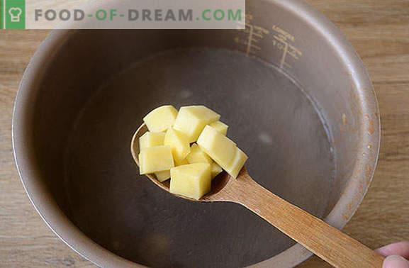 Zuppa con cavolo fresco in una pentola a cottura lenta: veloce, facile, gustosa! Foto-ricetta passo passo dell'autore per cuocere cavoli da cavolo fresco in pentola a cottura lenta