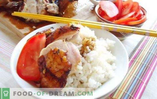 Marinata per pollo con salsa di soia: carne tenera dal sapore orientale. Ricette marinate per pollo con salsa di soia e miele, yogurt, kefir