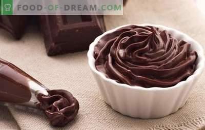 Ganache al cioccolato per coprire la torta - ricette e cucina. Tutte le regole e le ricette di ganash al cioccolato per dolci