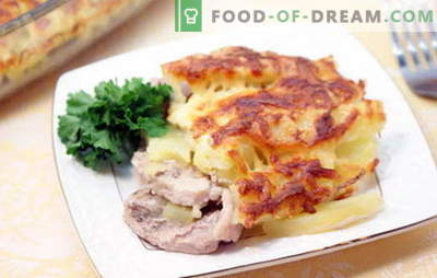 Maiale in francese con patate - delizioso! Ricette di maiale in francese con patate: al forno, cuocitore lento, nella padella