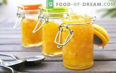 Confettura di melone e mela è un'insolita combinazione di sapori! Ricette comprovate per la deliziosa confettura di melone con mele, semi di papavero, zucchine