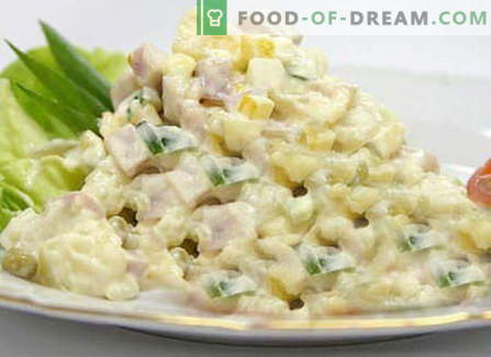 Insalata invernale - le migliori ricette. Come cucinare correttamente e gustoso Insalata invernale.