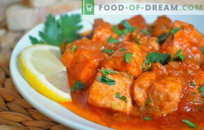 Le ricette di pollo al pollo sono le migliori ricette. Come cucinare chakhokhbili da pollo.