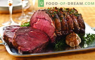Piatti di carne deliziosi: tavolo festivo per buongustai. Idee impeccabili di piatti caldi a base di carne per momenti speciali della vita