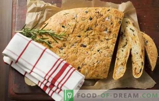 I benefici del pane fatto in casa e i segreti della sua preparazione - in ricette passo-passo. Mangia pane fatto in casa: ricette passo-passo collaudate per la salute