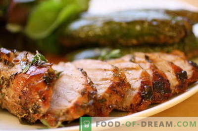 Maiale fritto in padella - le migliori ricette. Come cucinare correttamente e gustoso maiale arrosto.
