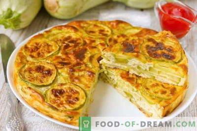 Zucchine Casserole - le migliori ricette. Come cucinare correttamente e gustoso zucchine in casseruola.