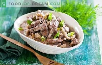 Fegato di manzo in una pentola a cottura lenta - ricette per tutti i giorni! Ricette di carne di manzo semplici, veloci e gustose in una pentola a cottura lenta