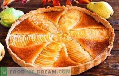 Šarlotas su kriaušėmis - labai sultingas pyragas! Įvairių charlottes receptai su kriaušėmis sielos gėrimui