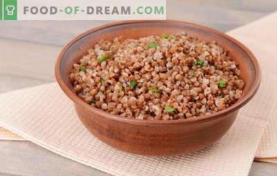 Le migliori ricette e regole importanti: come cucinare il grano saraceno in acqua. Cuocere il grano saraceno in acqua nel microonde, nel multicooker e nel forno