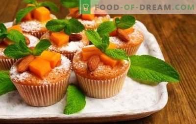 Muffin alla zucca - pasticcini solari! Ricette per muffin di zucca dietetici, classici e da dessert