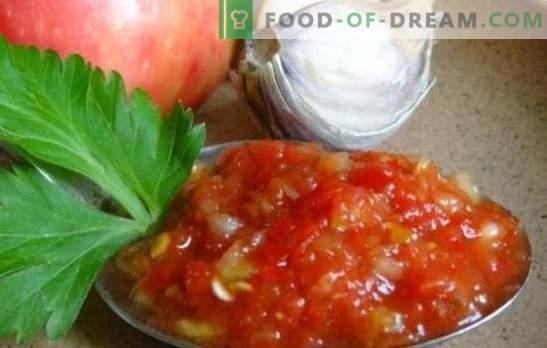 Ajika di zucchine: versioni originali di uno spuntino familiare. Abbiamo raccolto per te le ricette più famose adjika di zucchine