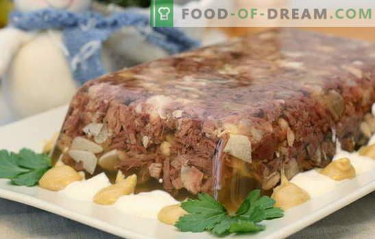 La gelatina di maiale stinco è un classico. Ricette di stinco di maiale brasato: con verdure, pollo, tacchino e manzo