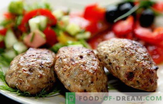 Polpettine di carne fatta in casa - riposare i prodotti semilavorati! Cottura di polpettine di carne macinata succosa e profumata: le migliori ricette