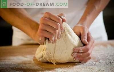 Regole per lavorare con la pasta lievitata, i suoi tipi, i periodi di conservazione