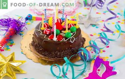 Prepariamo la torta a casa per il nostro compleanno (foto)! Ricette per varie torte di compleanno fatte in casa con foto