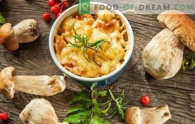Julienne con funghi e formaggio - zuppa francese? Incredibili avventure di una julienne con funghi e formaggio in Russia