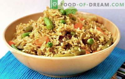 Caleidoscopio di pilaf vegetale: un piatto all'incrocio delle culture. Ricette pilaf con verdure - sempre vero!