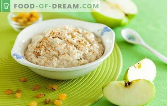 Il segreto di come cucinare il porridge in acqua. Piatti deliziosi e sani di farina d'avena in acqua