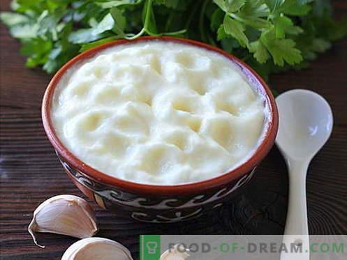Salsa all'aglio - le migliori ricette. Come cucinare correttamente e gustoso salsa all'aglio.