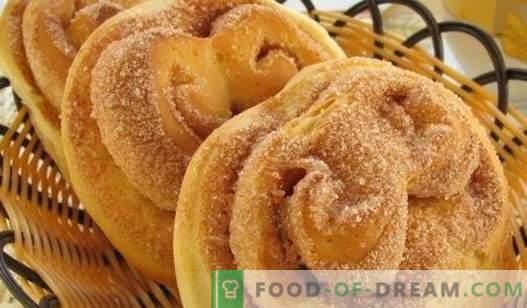 Panini con lo zucchero - le migliori ricette. Come cucinare correttamente e gustosi panini con lo zucchero a casa