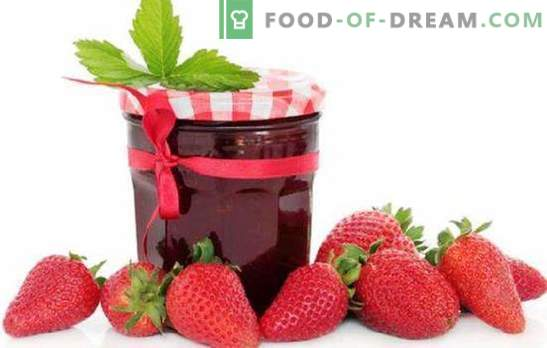 Gelatina di fragole con gelatina, pectina, agar-agar. Gelatina alla fragola con mele o lamponi: dessert o preparazione per l'inverno