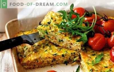 Casseruole di quarzo - una cena deliziosa per tutta la famiglia. Ricette per casseruole magre: da verdure, funghi, pasta, legumi, pita, mais