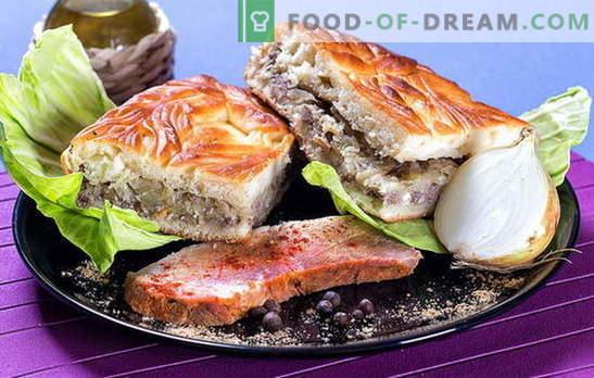 Torta con cavoli e carne: idee per farcire pasticcini salati. Tipi di impasto per torta con cavoli e carne: le migliori ricette