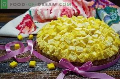 Italian Mimosa Cake