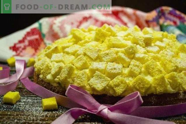 Torta Mimosa italiana