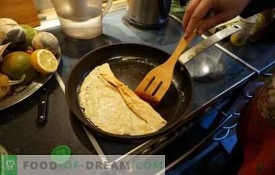 Perché i pancakes non funzionano: diventano bitorzoluti, rompere, bruciare, non cuocere