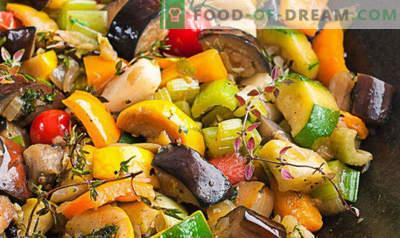 Que faire cuire à partir d'aubergine rapidement et savoureux, recettes avec des photos, dans la casserole, au four, pour l'hiver