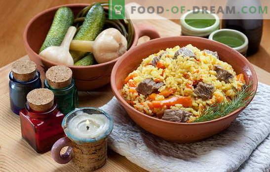 Come cucinare il pilaf in padella non è peggio che in un calderone. Ricette pilaf in padella con carne, pollo, verdure e frutta secca