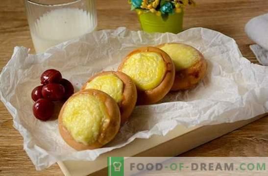 Cheesecakes dall'essiccazione: una ricetta fotografica per un dessert straordinariamente semplice. Cucinare le cheesecake dall'essiccazione: cucinare cibi gustosi in fretta