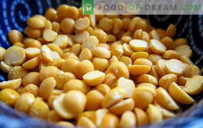 Cum să gătești mazăre: galben, verde, maro? Moduri diferite de gătire a mazării uscate, proaspete și congelate: rețete simple și complexe