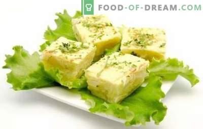 L'omelette con fiocchi di latte è una colazione salutare che piacerà a tutti. Una selezione di ricette di frittata con ricotta al forno, multicooker e padella
