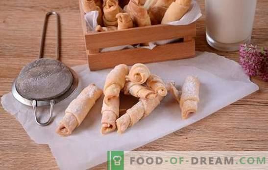 Bagel su panna acida: una ricetta fotografica passo-passo. Cucinare bagel fragranti su panna acida è un tempo abbastanza lungo, ma ne vale la pena!
