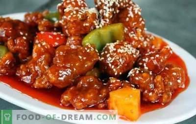 Maiale coreano - ricette collaudate per chi ama il cibo piccante. Qualsiasi contorno è buono con carne di maiale coreana