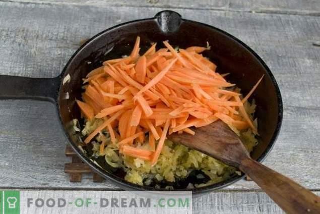 Patè di pollo semplice con uova e verdure