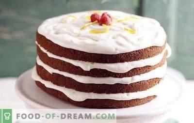 Torta con panna acida: ricette semplici e collaudate. Quali tipi di pasta vengono utilizzati per la torta con panna acida