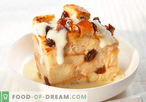 Budino alla vaniglia - le migliori ricette. Come cucinare correttamente e gustoso budino alla vaniglia.