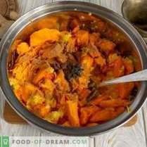 Salsa di chutney di zucca agrumata dolce indiana