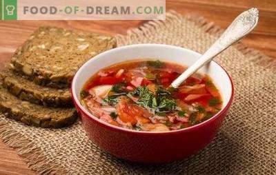 Zuppa russa: segreti di fama mondiale. Ricette di zuppa russa antica e nuova: aspro, fresco, verde, con kvas, con asparagi