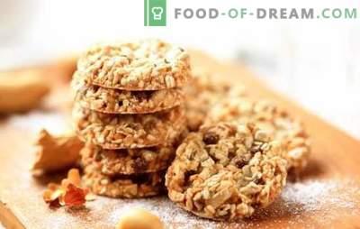 Come preparare gustosi biscotti di farina d'avena senza burro. Ricette e suggerimenti per cuocere i biscotti di farina d'avena senza burro