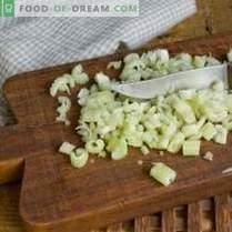 Nasello di verdure - pesce per un menu a basso contenuto calorico, ma gustoso