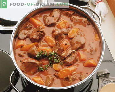 Stufato di carne - le migliori ricette. Come cucinare correttamente e gustoso stufato.