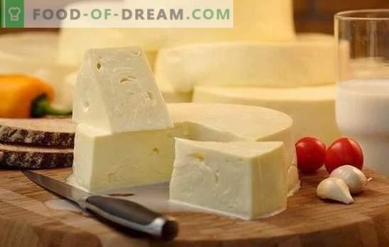 Come cucinare velocemente suluguni a casa: la ricetta del formaggio bianco giovane. Cottura delicata suluguni a casa