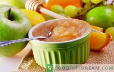Marmellata di mele e pere - gioia autunnale. Ricette per fare marmellate di mele e pere in vari modi