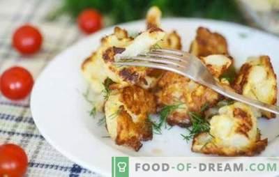 Cavolfiore con un uovo in padella - devi provarlo! Ricette e cottura di cavolfiore con un uovo in una padella