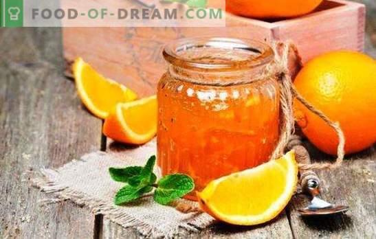 Marmellata di arance profumate: come fare una prelibatezza all'arancia. Ricette di marmellata di arance con limoni, zenzero, cannella